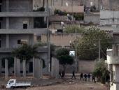 Kobani'nin içinden şaşırtan görüntüler