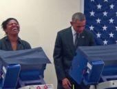 Obama'yı şaşırtan 'taciz' şakası!