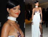 Rihanna yine göz doldurdu