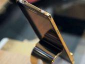 24 ayar altın kaplamalı Note 4 satışta
