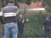 Polisin silahını alan şahıs dehşet saçtı