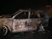 Silahlı 3 kişi yol kesip doktorun aracını yaktı