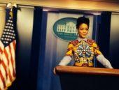 Rıhanna Beyaz Saray'da!