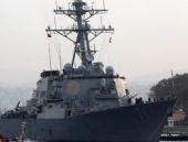 ABD gemisi 'Türk Bayrağı çekip' gitti!