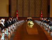 Erdoğan Ezidi heyetini kabul etti...