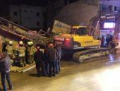 İzmir'de 3 katlı bina yerle bir oldu!