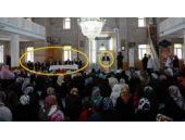 AK Partili başkan camiye kürsü kurdurdu!