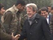 Fransız Bakan YPG'yi cephede ziyaret etti!