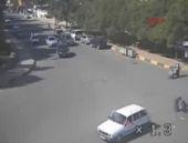 Nizip'te saniye saniye trafik kazaları