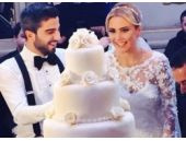 Ece Erken gelin oldu! İşte düğün fotoğrafı