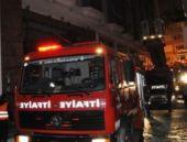 Beşiktaş'ta otelde yangın paniği!