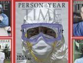 TIME 2014 'Yılın Kişisi' Ebola'yla savaşan sağlık görevlileri