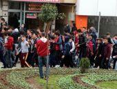 Kavgaya giden 300 liseliyi polis durdurdu