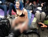 'Porno yasasını' böyle protesto ettiler