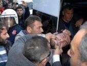 Kobani çadırına polisten görülmemiş müdahale