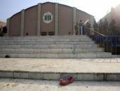 Taliban'ın bastığı o okuldan acı görüntüler...