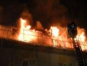Tekstil atölyesinde yangın: 2 ölü