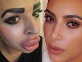 Kim Kardashian'a benzemek için servet harcayan adam!