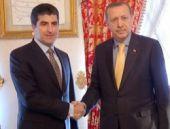 Erdoğan Neçirvan Barzani'yi kabul etti
