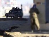 Cizre'de  polise silahlı saldırı! Şoke eden video...