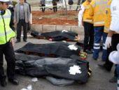 Elazığ'da katliam gibi kamyonet kazası