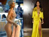Rihanna'nın 2014'teki en cesur kıyafetleri!
