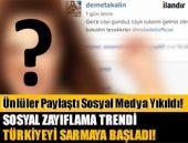 Ünlüler sosyal medyada öyle birşey paylaştı ki!