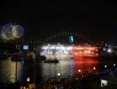Sidney yeni yılı böyle karşıladı Muhteşem şölen