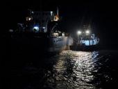 Marmara Adası açıklarında korku dolu anlar