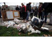Gezi Parkı karıştı Polis müdahale etti!
