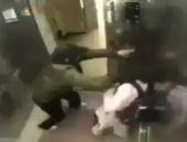 Asansörde tacize yeltenince olanlar oldu