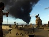 Libya'ya düşen iki roket 2 can aldı