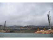 Türkiye'nin üçüncü büyük köprüsü tamamlanıyor
