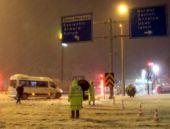 Yol durumu Afyon Antalya yoluna dikkat