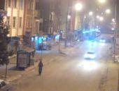 Kars'ta saniye saniye trafik kazası