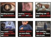 AB'den sigara paketlerine korkunç fotoğraflar