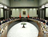 Cumhurbaşkanlığı Sarayı'ndaki Bakanlar Kurulu'nda flaş detay