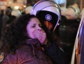 Ankara'da göstericilere polis müdahelesi