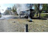 Otobüs durağına top mermisi 13 ölü