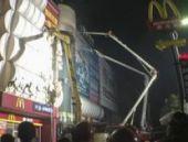 Çin'de iş hanında yangın: 17 ölü