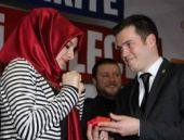 AK Partili başkandan evlenme teklifi