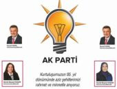 AK Parti kutlamasında başörtüsü kizi