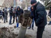 Ukrayna'ya roket yağdı: 8 ölü 31 yaralı!