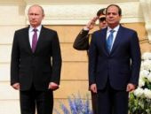 Mısır'dan Putin için skandal tören!