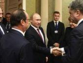 Ukrayna krizinin çözümü için dörtlü zirve Minsk'te başladı
