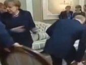 Ukrayna zirvesinde sandalye krizi!