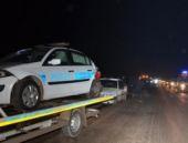 Diyarbakır'da kaza! 3 polis yaralı