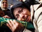 Özgecan Aslan'ın annesinden Erdoğan'a siyah başörtüsü