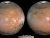 Mars'ın üzerinde esrarengiz sis bulutu