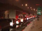 Köprüde zincirleme trafik kazası!